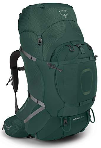 Osprey Aether Plus 85 Grün, Herren Alpin- und Trekkingrucksack, Größe S-M - Farbe AXO Green