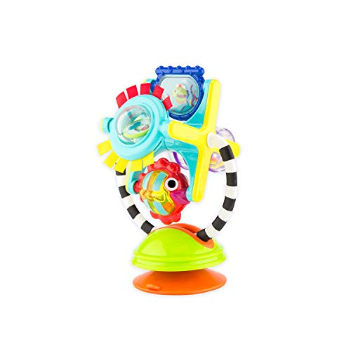 Product Image of the Sassy Fishy Fascination Station 2-in-1 Suction Cup High Chair Toy |...