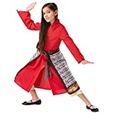 Rubie's- Mulan Costume Divertente. Ragazze, Multicolore, 9-10, 3008289-10
