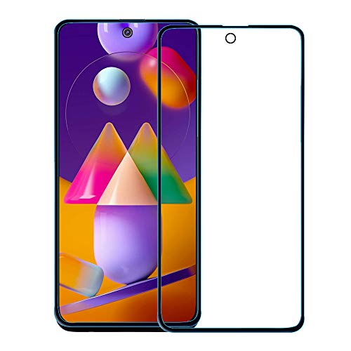 Amazon Brand - Solimo Full Body Tempered Glass for Samsung Galaxy M31s , with Installation kit