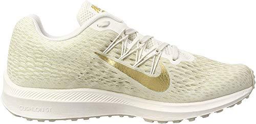 Nike Women's Zoom Winflo 5 Phantom/Metallic Gold/String Running Shoe 6.5 Women US