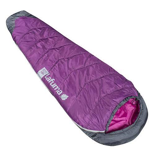 Lafuma Yukon 5° Schlafsack, für Freizeit und Wandern, für Erwachsene, Unisex, Feder, Violett, Einheitsgröße