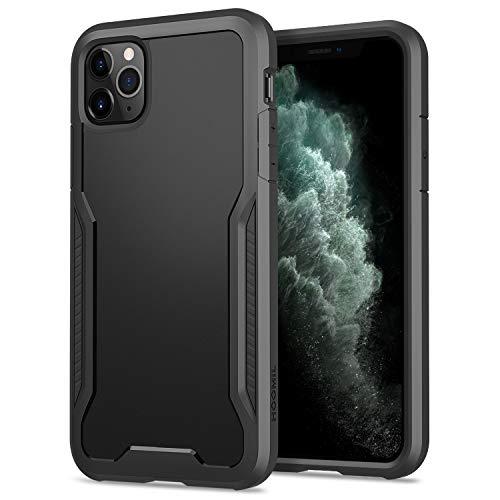 HOOMIL Funda para iPhone 11 Pro, Antigolpes Carcasa para Apple iPhone 11 Pro (5,8 Pulgadas), Armor Protección Silicona TPU Bumper Case - Negro
