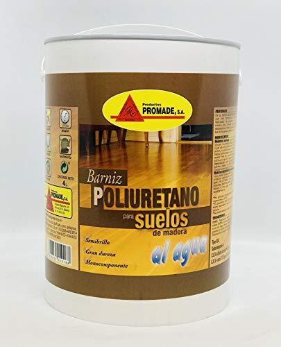 PROMADE - Barniz poliuretano agua suelos madera 4
