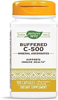 Nature's Way Buffered C-500 Mineral Ascorbates; 500 mg Vitamin C per Serving; 100 Capsules
