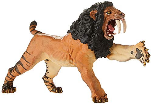 Papo Roaring Smilodon Figure, Multicolor
