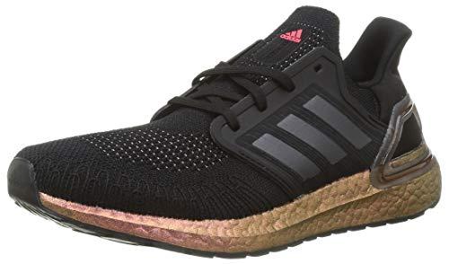 adidas ULTRABOOST 20, Men's Sneaker, Negbás/Gricin/Rossen, 6 UK (39 1/3 EU)