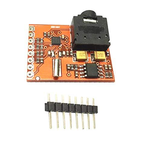 FLAMEER Si4703 RDS FM Radio Module De Développement Tuner Evaluation Breakout Board pour Arduino AVR PIC Arm