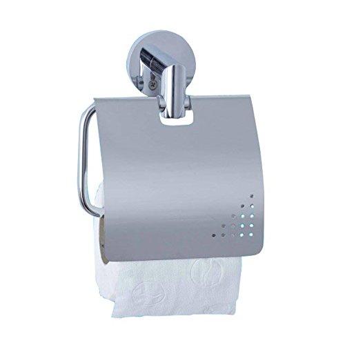 Toilettenpapierhalter Großrollen Jofel aw41300Toilettenpapierhalter mit Deckel verchromtem Messing, Helligkeit