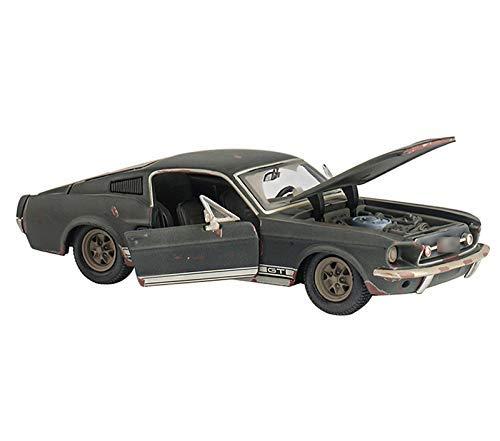 LIUCHANG Modelo de Coche El Mustang Original 1967 Versión Hecho El Viejo de la simulación de aleación Modelo de Coche 1:24 del Coche Modelo de la colección Adornos de colección Modelo (Col