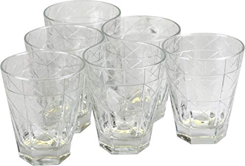 Porto Fino korte drinkglas Tumblers warme of koude dranken bril 6pk 10oz