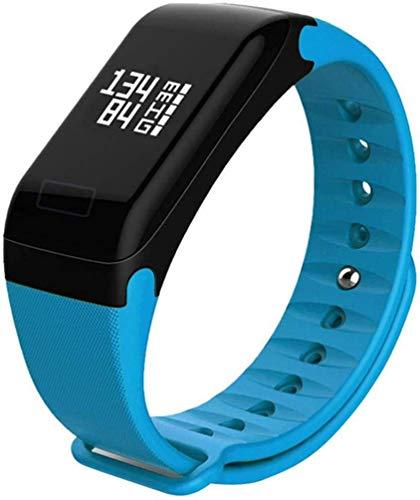 GANG Fitness Tracker Smart Fitness Tracker/Smart Pulsera, F1 Impermeable Sleep Monitor Puerta Puerta Pulsera Inteligente Deportes, Pulsera para Niños Mujeres Hombres Deporte Fitne