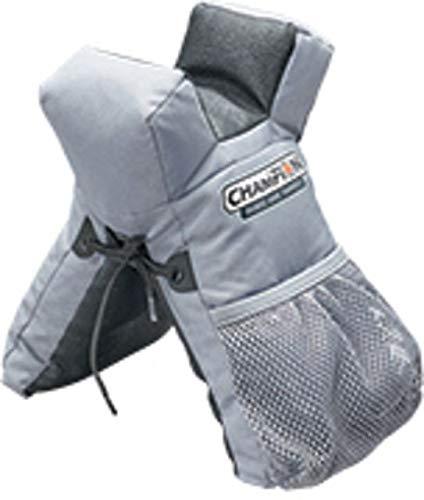 Champion Rail Rider Shooting Bag Grey Front Bag