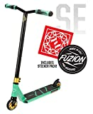 Fuzion Z250 Pro Scooters - Trick Scooter - Intermediate and Beginner Stunt Scooters for Kids 8 Years and Up, Teens and Adults – Durable Freestyle Kick Scooter for Boys and Girls (2020 SE Teal)