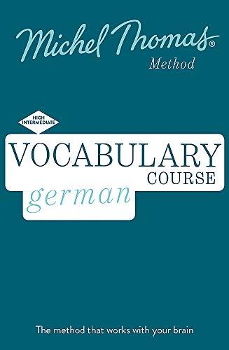 Vocabulary Course German: High Intermediate
