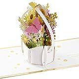 Hallmark Signature Paper Wonder Easter - Tarjeta de felicitación de Pascua (cesta de Pascua)