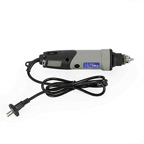Miniamoladora eléctrica de mano, 28000 r/min, 6 velocidades, 400 W, enchufe europeo