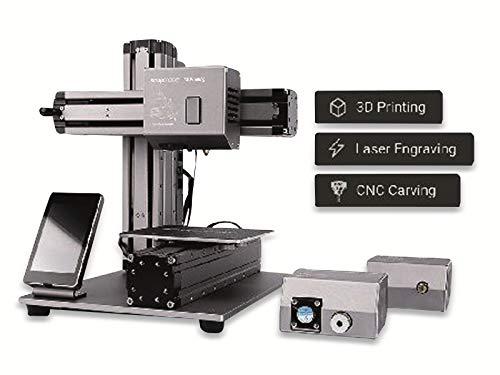 【国内正規品】Snapmaker 3-in-1 3Dプリンター 本体 3Dプリント CNC レーザー 彫刻 加工 刻印 金属製 キッ...