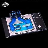 Full-Cover GPU Block Water Block Waterblock Liquid Cooler RGB LED for Computer Graphic Card Asus ROG Strix Vega 64
