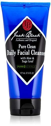Jack Black , Pure Clean Daily Facial Cleanser, 6 Fl Oz