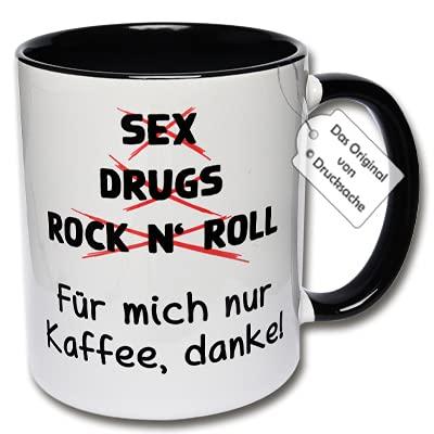 Lustige Tasse, Kaffeetasse mit Spruch