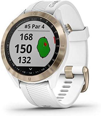 [Amazon.ca] Garmin Approach S40, Stylish GPS Golf Smartwatch – $329.99(21%OFF)