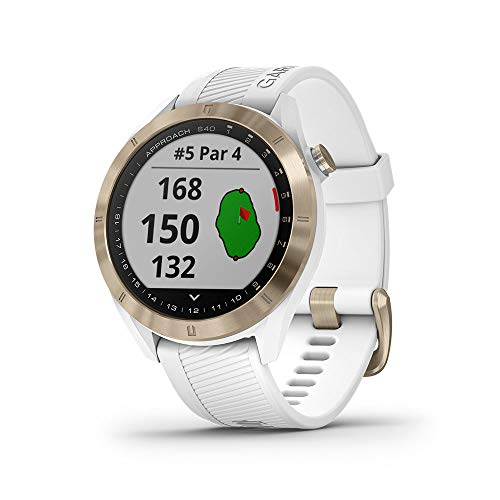 Save %10 Now! Garmin Approach S40, Stylish GPS Golf Smartwatch, Lightweight with Touchscreen Display...