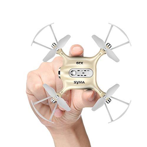Syma Mini RC UFO Quadcopter DoDoeleph X20 2.4Ghz 6 Assi giroscopio Telecomando RTF Elicottero Nano Puntata Drone Modo Senza Testa con Hold Holding e Light One Key Togliere l'atterraggio d'oro