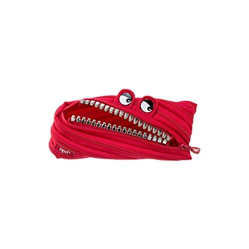 Portamatite Organizer Creativo Design Pattern Zipper cassa di matita Daikin cancelleria sacchetto dell'allievo di scuola del bambino Forniture Bag per bambini e adulti (Color : Red)