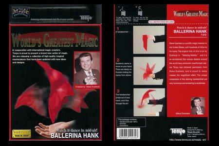 Ballerina Hank (T-212) by Tenyo Magic - Trick