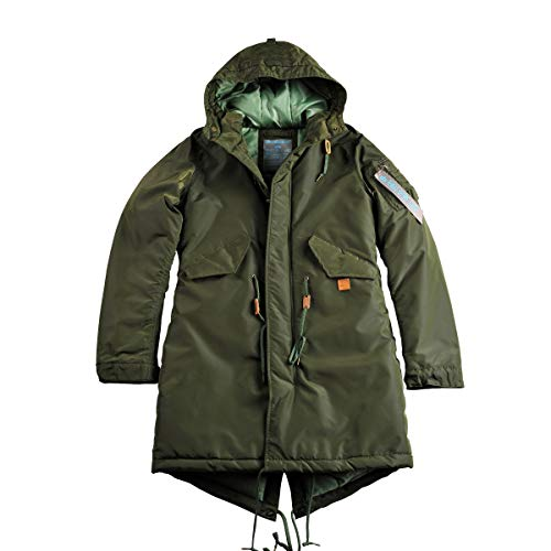Alpha Industries Damen Parka oliv M