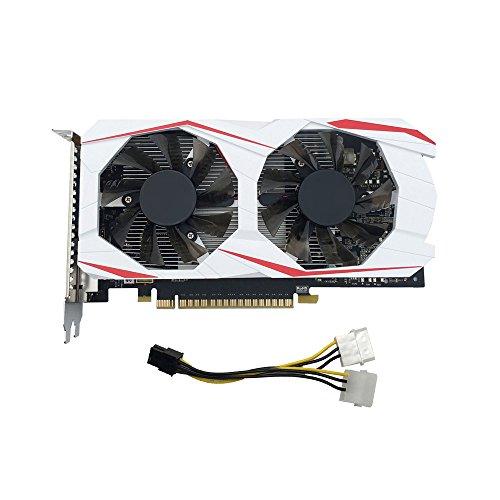 Dinglong GTX750TI 2Go GDDR5 192bit VGA DVI HDMI Carte Graphique w/Fan pour NVIDIA GeForce