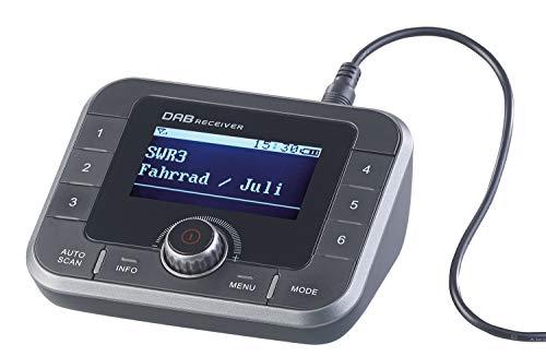 VR-Radio Radio Sender, Bluetooth: DAB+/FM-Tuner für Streaming an HiFi-Anlage & Lautsprecher, Bluetooth (DAB Radio mit Ausgang, Bluetooth)