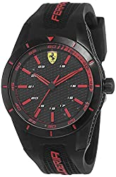 Best Sporty Watches for Boys - Ferrari Red