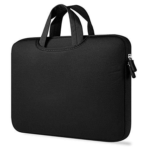 drolpt Bolso de la Funda de la Funda de la Bolsa de la Bolsa de la Bolsa de portátil Universal Bolso de Cuaderno a Prueba de Golpes para MacBook Air Pro 11 13 14 15 Pulgadas