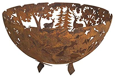 Laser Cut Woodland Fire Bowl (FF262) from Fancy Flames