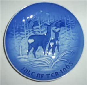 1965 Fashionable Bing and Grondahl Christmas Plate in OFFicial site the