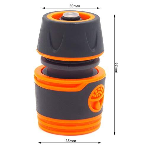 Haijun Rociador de Agua Duradero 1/2'Conector de Manguera de Agua Adaptador de tubería Juego de Accesorios de tubería de Manguera de Grifo Conector rápido para Herramientas de riego de jardín