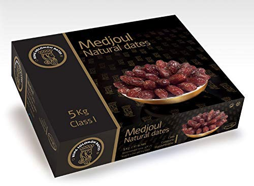 Dátiles Natural Medjoul King Solomon Dates - Caja 5 kg