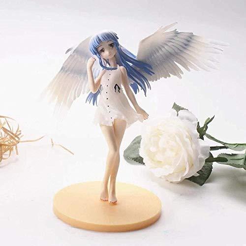 YDDM Figura de Anime 15cm Angel Beats Modelo Alas de Juguete Tachibana Kanade Figura de acción Angel s Heartbeat Doll Hecho a Mano Anime Decoración Regalos para niños