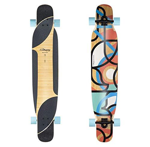Loaded Boards Bhangra V2 Bamboo Longboard Skateboard Complete 77a 4 President Flex lt1
