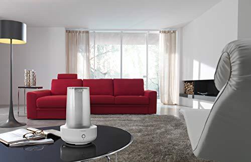 De'Longhi Luftbefeuchter UHX17, weiß/grau, Aromatherapie, 200 Watt