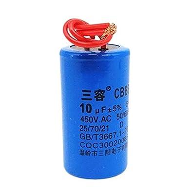 CBB60 10UF 12UF 15UF 16UF 20UF 25UF 450V Washing machine pump motor capacitor (10 uF)