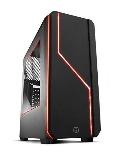 PCDATA - Gaming PC Ordenador de sobremesa (Intel I7-7700 / Placa MSI B