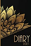 Mandala Diary 2021: Colouring Diary 2021 January to December Week to 2 pages To View Diary Bullet Yearly Monthly Weekly Planner Annual Organiser ... Agenda Gift Idea for Women Men Girl Birthday