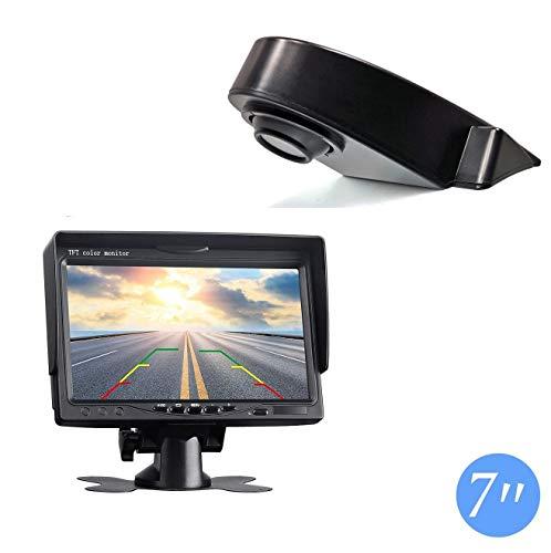 "Dachkante Einparkhilfe Rückfahrkamera integriert in 3. Bremsleuchte Kamera für Sprinter W906, Ducato,Crafter, Transit, Vito+ 7.0\"" Zoll DVD Monitor TFT Bildschirm Rückfahrkamera LKW KFZ LCD Display"