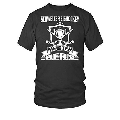 Schweizer Eishockey Meister Bern. Männer T-Shirt