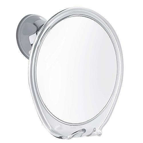 PROBEAUTIFY FOGLESS Shower Mirror for Shaving - Strong Suction Cup, Razor Holder & 360 Degree Rotation Shower Shaving Mirror - Fog Free Mirror for Shower & Shaving Mirror - Men & Women