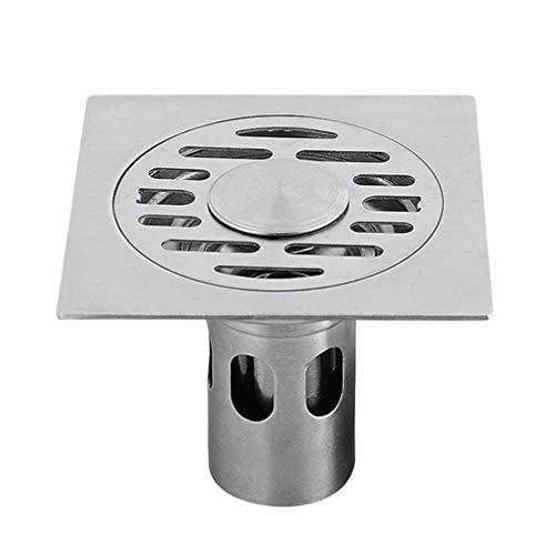 TOPBATHY vloer afvoer wastafel vierkant roestvrij staal douche afvoer bewakers afval rooster Strainer voor badkamer toilet