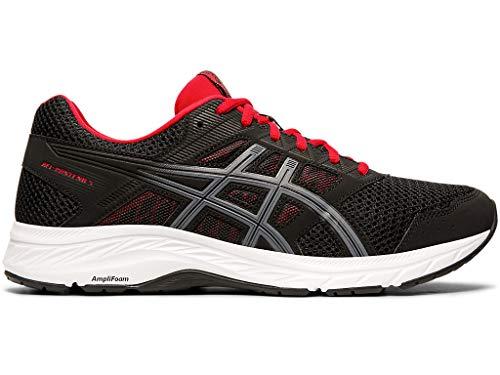ASICS Men's Gel-Contend 5 Running Shoes, 12M, Black/Metropolis